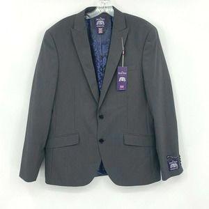 Saville Row Brixton 40L Sport Coat Suit Jacket